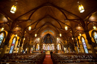 Interior, St. John's Anglican Church,