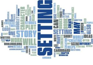 Elements of setting word cloud at http://theolddirtroad.com
