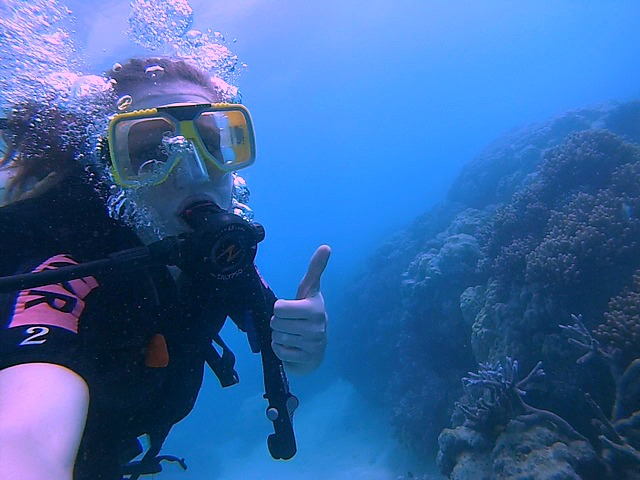 Scuba Diving at the Great Barrier Reef