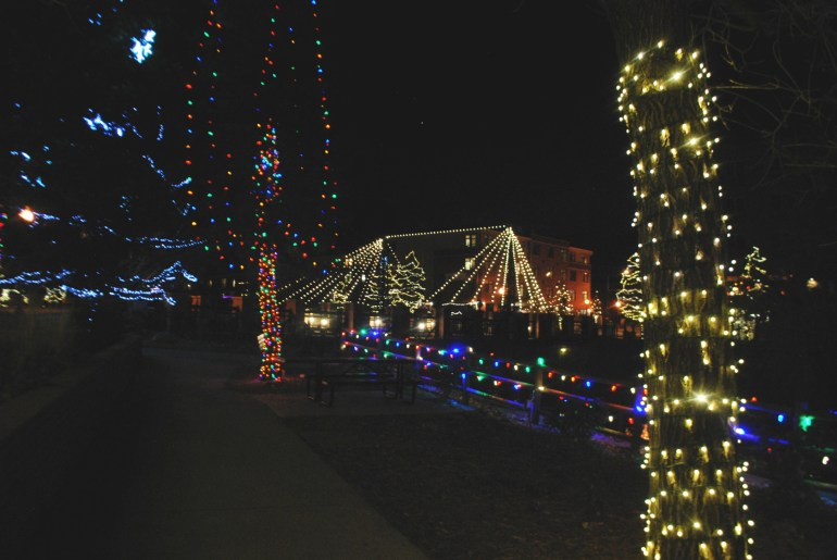 Golden, CO during the holidays