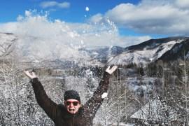 Winter in Aspen, CO