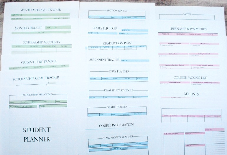 17 Tips For Successful Planner Organization The Olden Chapters