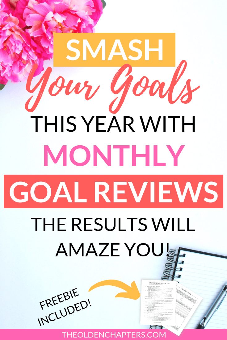 The ultimate guide monthly reviews for goal setting for adults, college students, and families. Perfect to help you reach your life goals to improve your career, fitness, body, future, and relationship. Includes free printable worksheets, ideas, tips, trackers, tools, and examples to get you started in reaching your personal and work goals. Add this process to your bullet journal or planner. Pin and read now to start crushing your goals today! #goalsetting #productivity #career