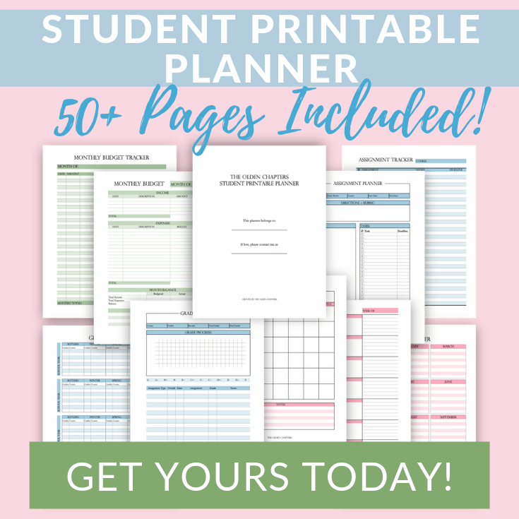 photo relating to College Binder Organization Printables known as 15 Ultimate Suggestions towards an Ready University Binder - The Olden Chapters