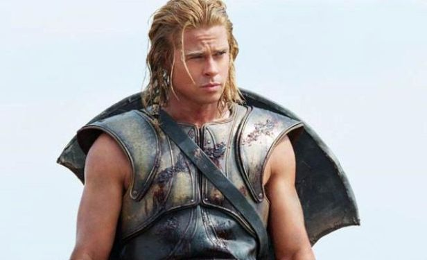 Brat Pitt (in Troy). Fat fuck.