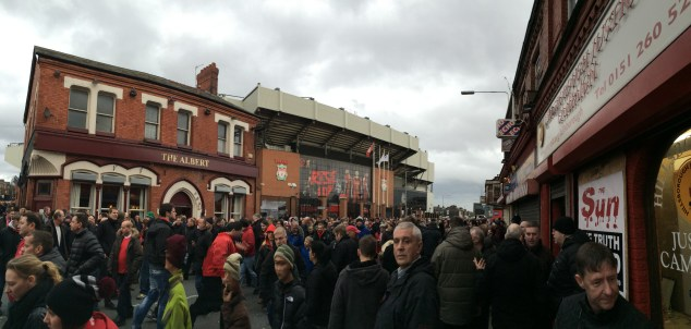Streets around Anfield