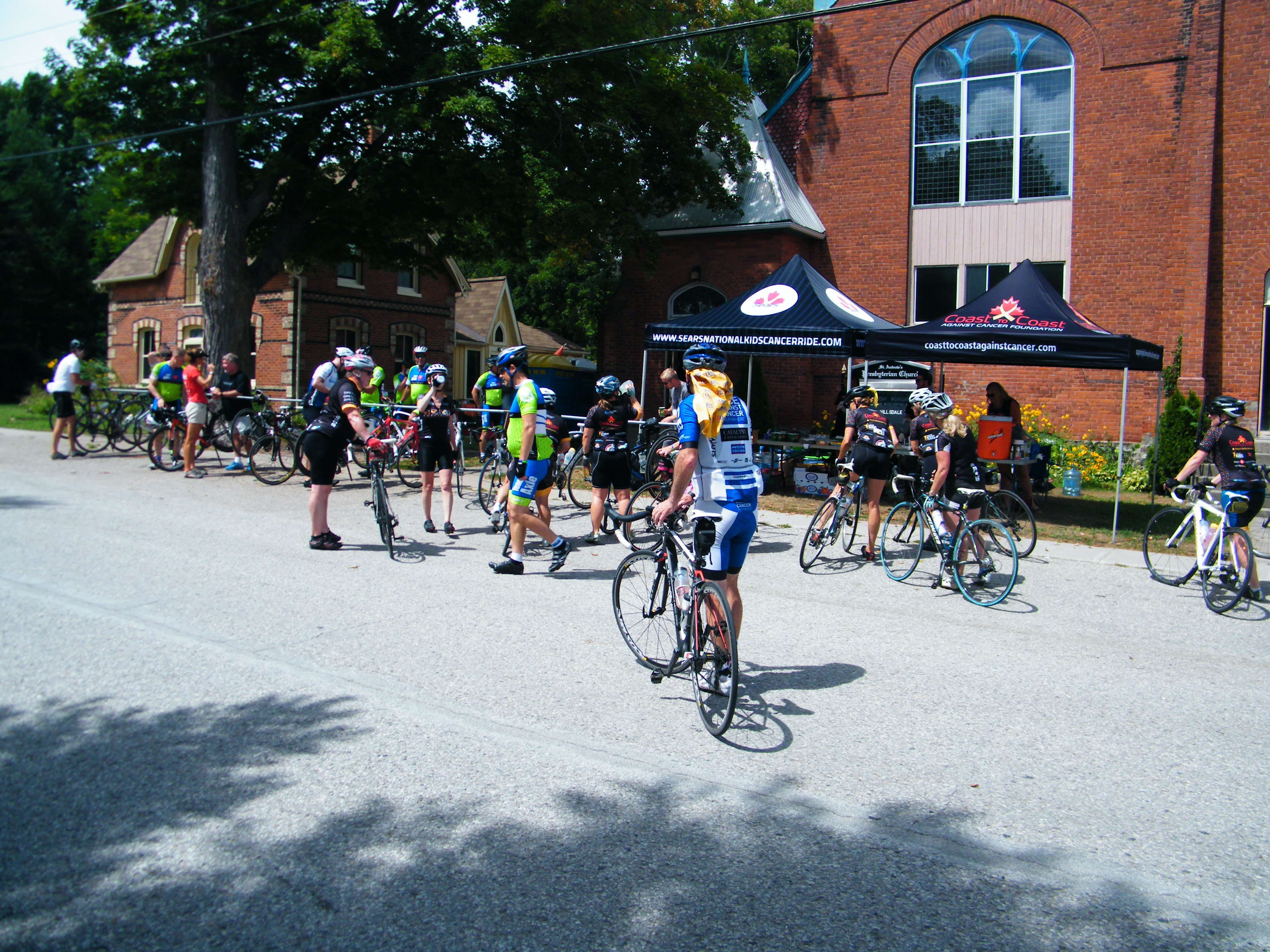 Cycling For a Great Cause