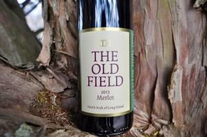 The Old Field, 2013 Merlot, Red Wine, Tree bark, The Old Field Vineyard
