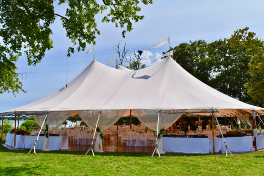 Sperry Tent for 250 guests.