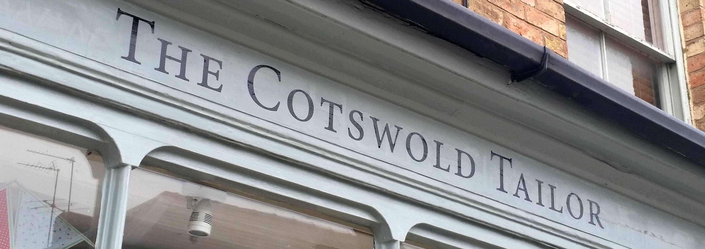 The Cotswold Tailor, a menswear shop in Shipston specialising in tailored suits and wedding hire.