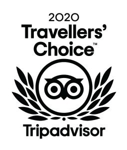 TripAdvisor Traveller's Choice Award for 2020