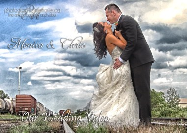 monica dhris wed video covers template