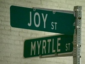 Beacon Hill Street Signs