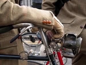 tweed bike cuff