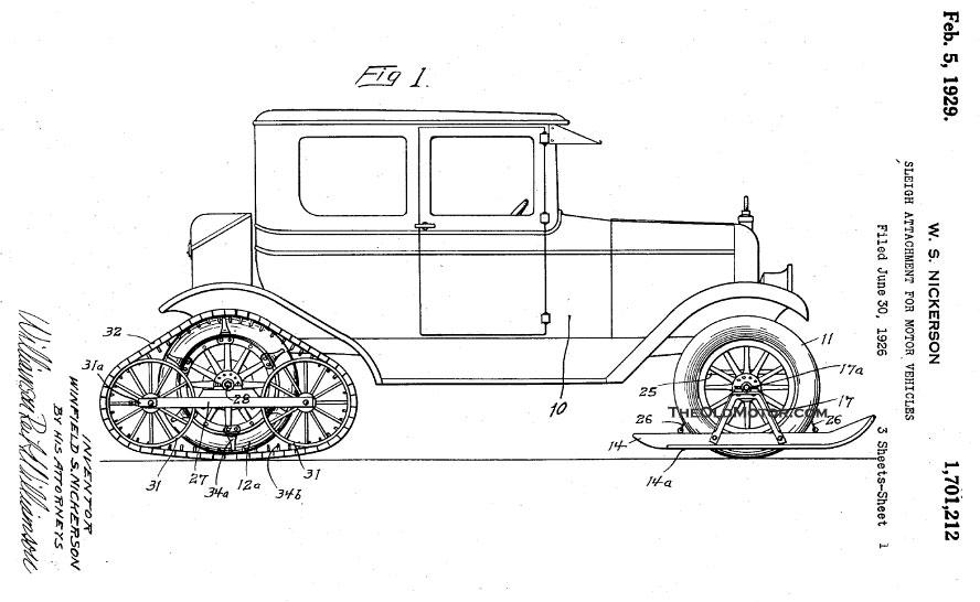 The Motor-Sleigh