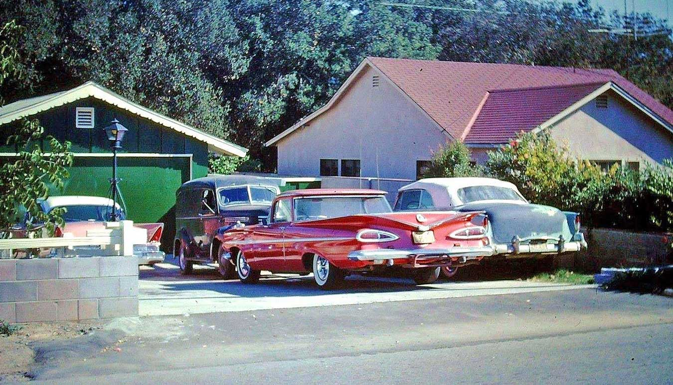 Dodge Four Door Cars For Mom 1950s