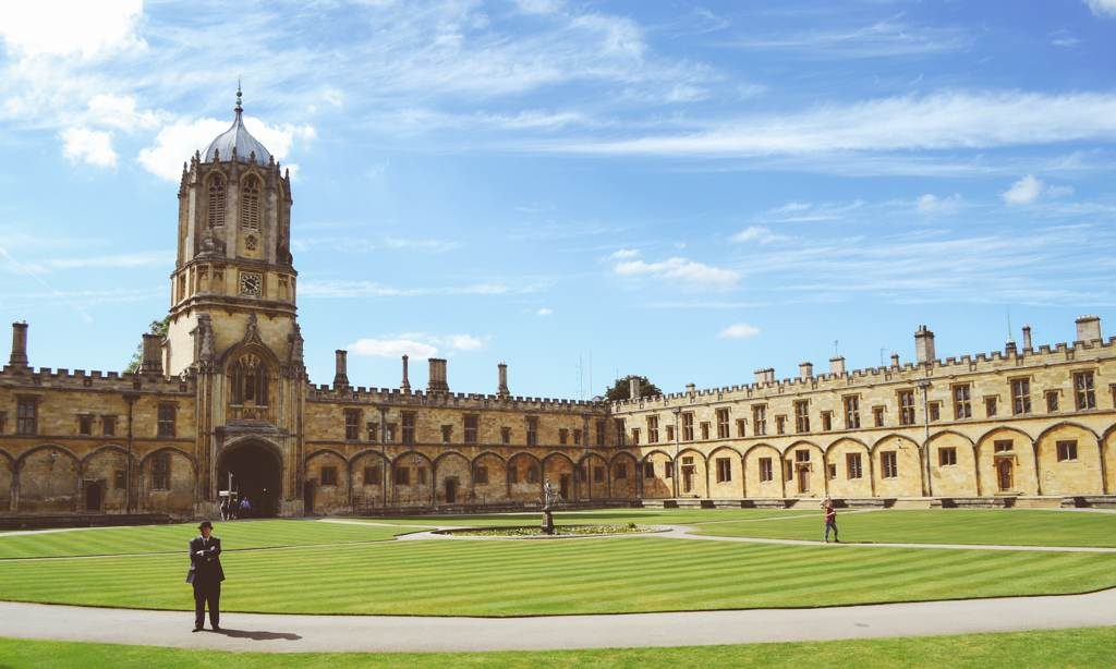 Oxford University College Quad