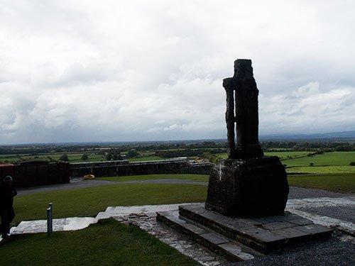 Rock of Cashel - Saint Patrick Cross