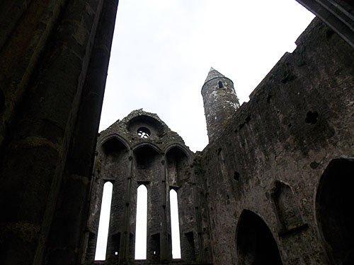 Rock of Cashel - the Abbey