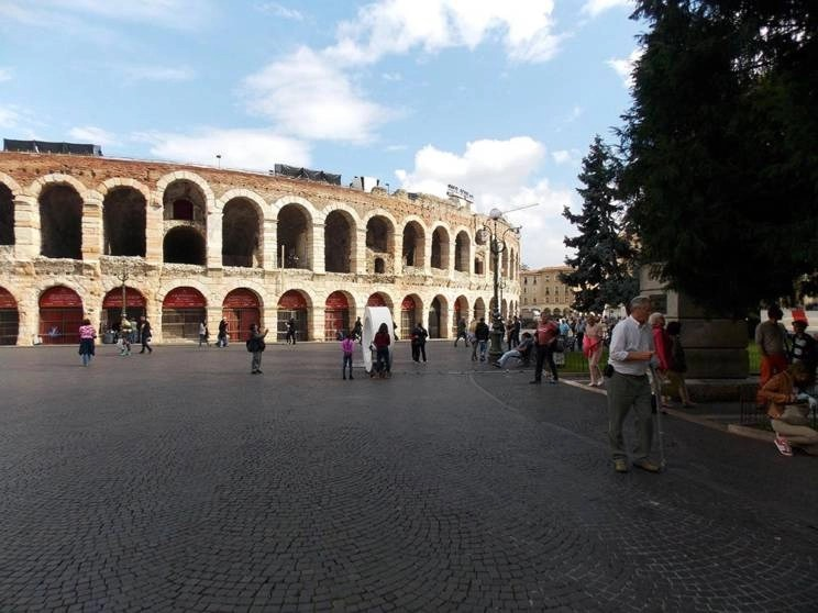 Arena of Verona - Piazza Bra