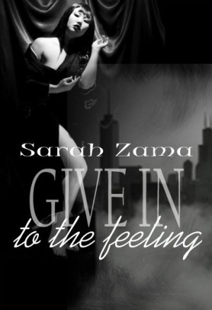 Give in to the Feeling mock up cover
