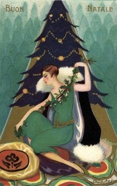 happy christmas 1920s