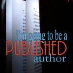 I'm going to be a published author