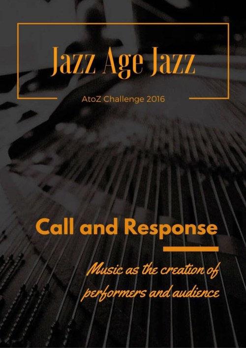 Jazz Age Jazz - Call And Responce