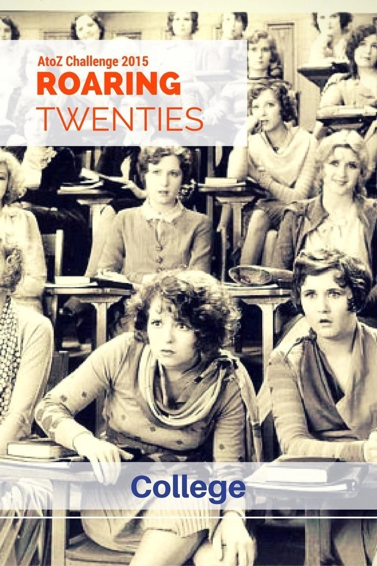 ROARING TWENTIES AtoZ - College - The concept of youth as we understand it now was born in the 1920s, inside the colleges where an increasing number of youths went, for the first time free of any social rule imposed by their elders