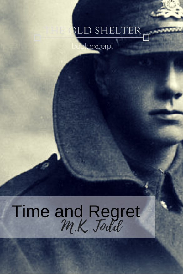 Time and Regret by M.K. Todd - A novel of love and a mystery that goes back to the trenches of WWI