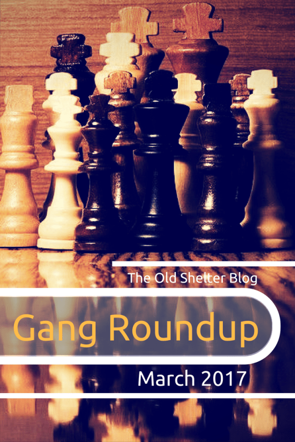 Gang Roundup March 2017 - What I've found of interest on the net this month in terms of dieselpunk (a few cook clips here) and 1920s life. And some literary tips