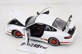 AUTOart 1:18 scale Porsche 911 GT3 RS 2004(996) White/Red stripes