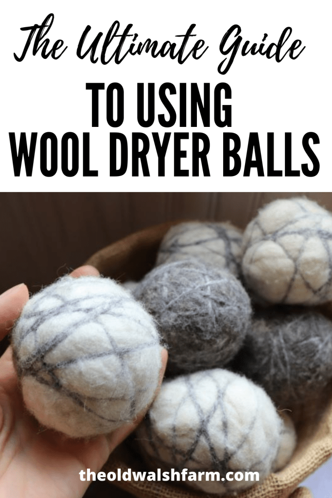 """The Ultimate Guide to Using and Caring For Wool Dryer Balls - From """"How do I store wool dryer balls?"""" to """"Do they remove pet hair?"""", here is all you ever wanted to know about using and caring for wool dryer balls."""