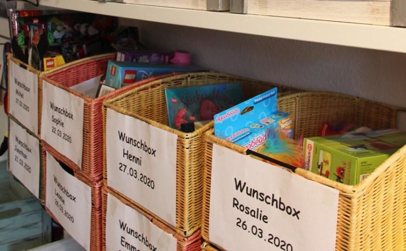 individuelle Zusammenstellung von Geschenken durch unsere Wunschboxen
