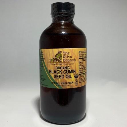The Olive Branch Organic Black Cumin Seed Oil 8 Fl oz