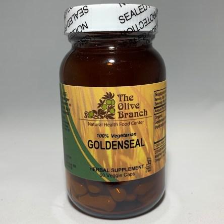 The Olive Branch Goldenseal 60 Veggie Capsules