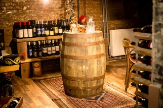 The Olive house wine cellar