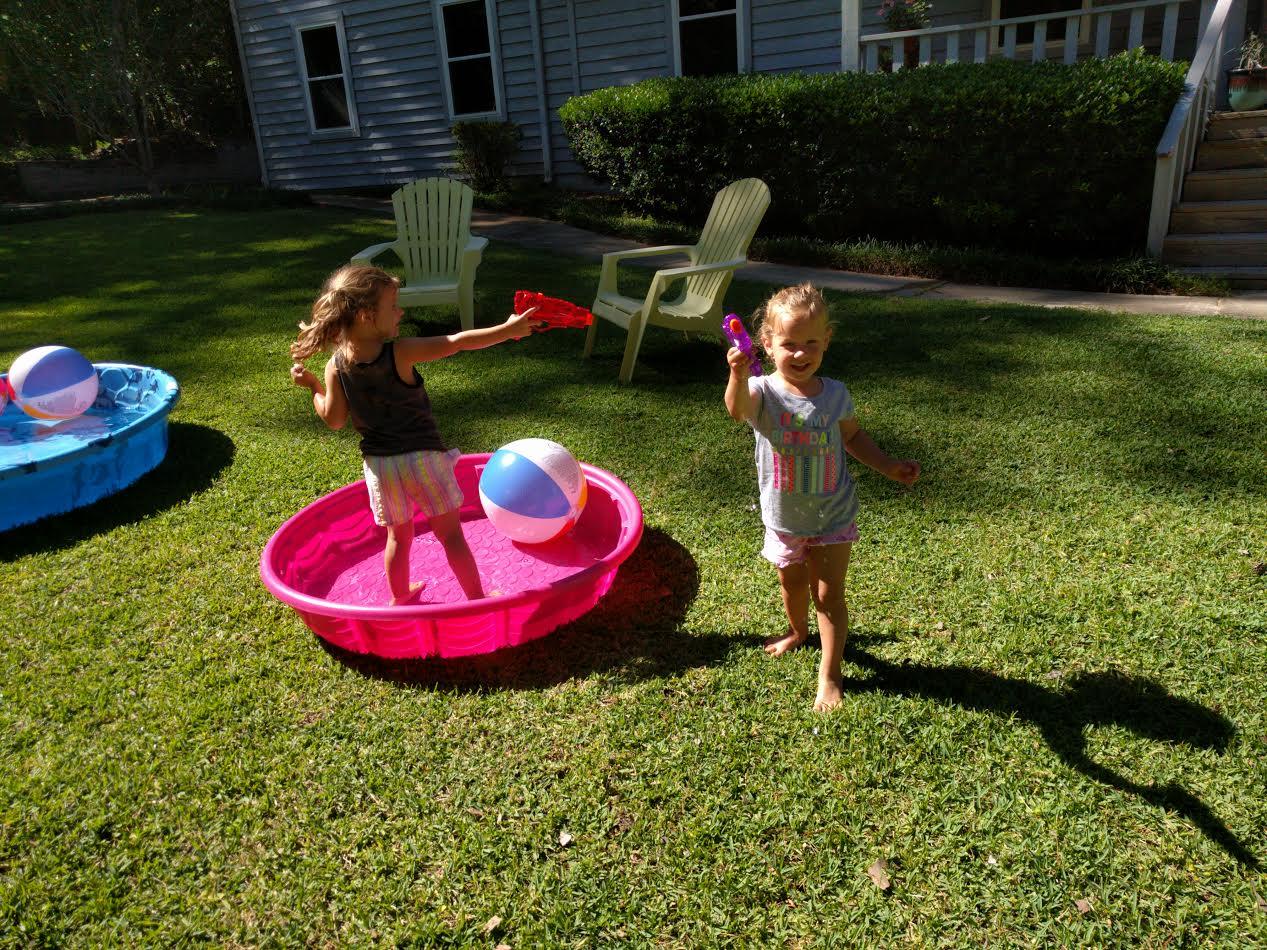 Summer Sun | Bring Out the Water Guns