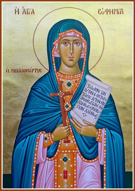 Sfanta Mare Mucenita Eufimia