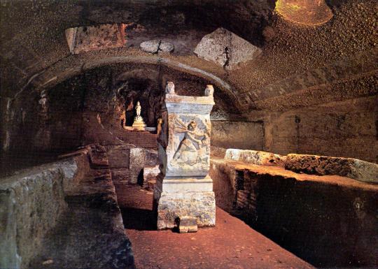 Templu al Zeului Mithras la Roma