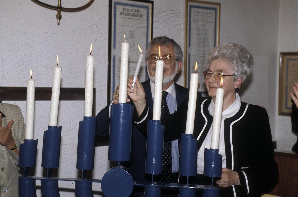 Chiara cu membrii masoni-iudei din Binai B'rith
