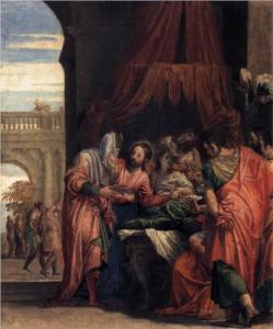Raising of the Daughter of Jairus by Paolo Veronese