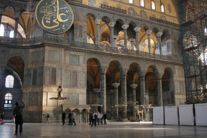 Hagia Sophia, Istambul, Turkey