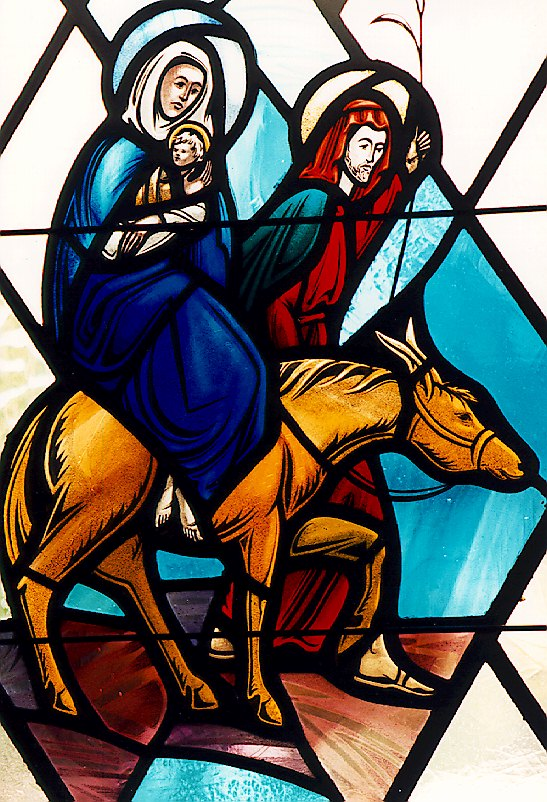 The Flight To Egypt, St. Thomas Episcopal Church, Medina, WA