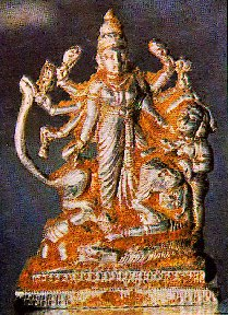 Mahishasura Mardini Vigraha (Image of Durga), Created By Sathya Sai Baba In 1972 During The Inauguration Of a Yagna