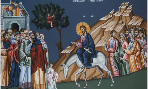 聖枝主日:意義與聖像畫解說 Palm Sunday: Meaning and Icon