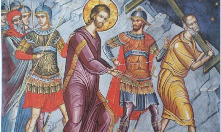 聖像畫的故事:耶穌被逮捕 Icon Story: Arrest Jesus