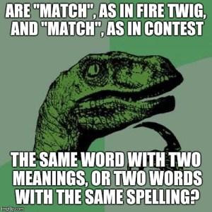 match-and-match