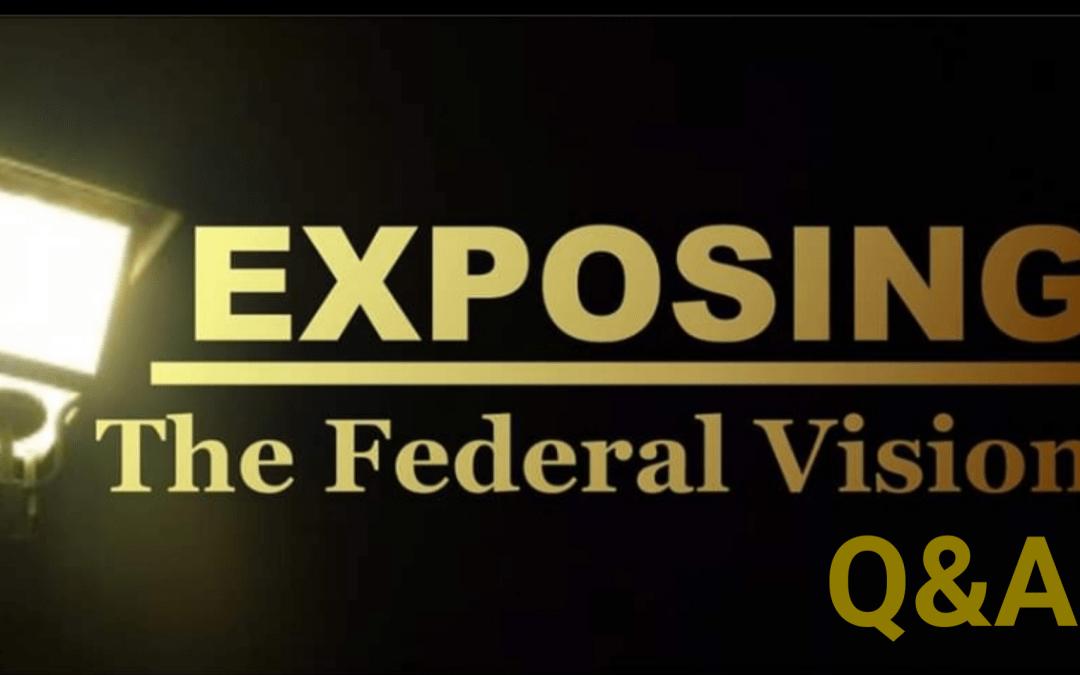 Federal Vision Q&A with Dewey Roberts | Bonus Episode