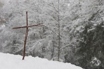 Cross in Snow